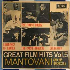Mantovani And His Orchestra - Great Film Hits Vol. 5 FLAC