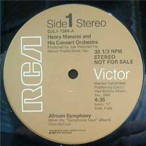 Henry Mancini And His Concert Orchestra - African Symphony FLAC