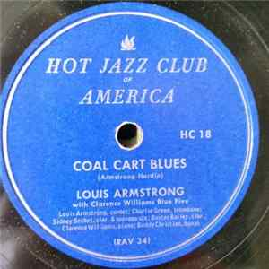 Louis Armstrong With Clarence Williams' Blue Five - Coal Cart Blues / Texas Moaner Blues FLAC
