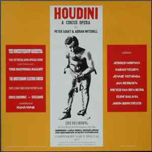 Peter Schat & Adrian Mitchell - Houdini (A Circus Opera) FLAC