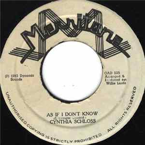 Cynthia Schloss - As If I Don't Know FLAC