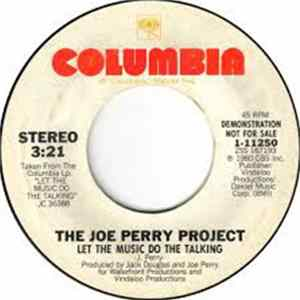 The Joe Perry Project - Let The Music Do The Talking FLAC