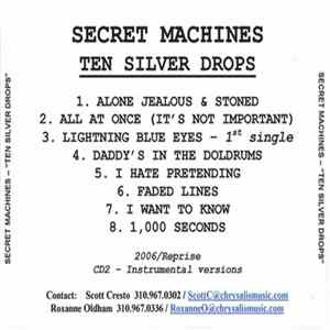 Secret Machines - Ten Silver Drops FLAC