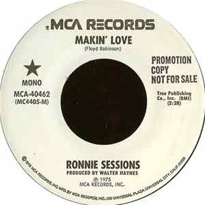 Ronnie Sessions - Makin' Love FLAC