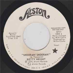 Betty Wright - Shoorah! Shoorah! / Tonight Is The Night FLAC