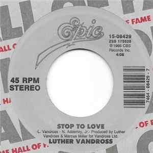Luther Vandross - Stop To Love / So Amazing FLAC