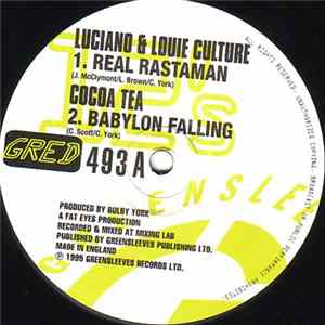 Luciano & Louie Culture / Cocoa Tea / Redrose - Real Rastaman / Babylon Falling / Chanting Down Babylon FLAC