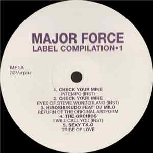 Various - Major Force Label Compilation 1 FLAC