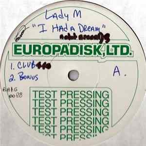 Lady M - I Had A Dream FLAC